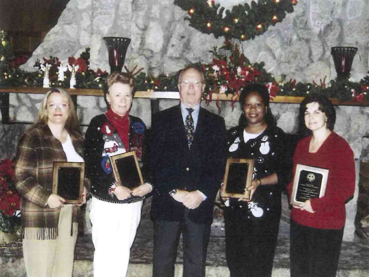 CBSHS Classified Staff Awards 2003