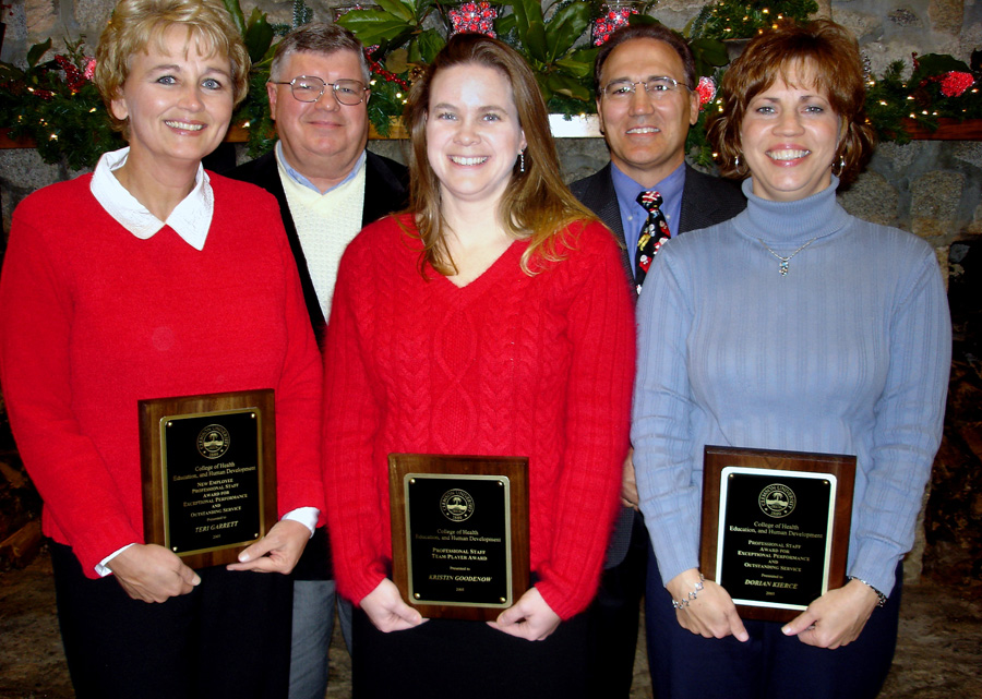 CBSHS Classified Staff Awards 2005