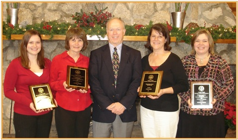 CBSHS Classified Staff Awards 2008