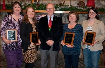 CBSHS Classified Staff Awards 2012