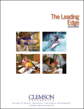 The CBSHS Leading Edge 2007-2008 EditionProfiling the Faculty and Student within the Clemson University College of Behavioral, Social and Health Sciences