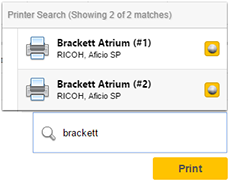 printer live search