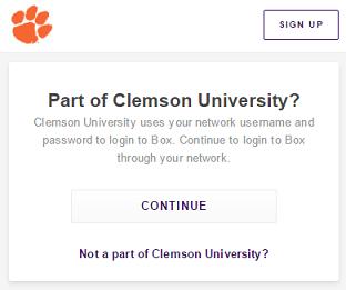 Screenshot of Box.com download experience