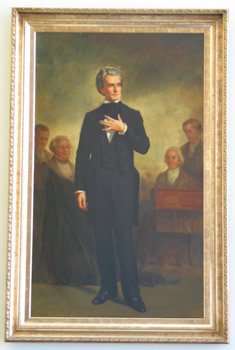 Calhoun Portrait in Cooper Library