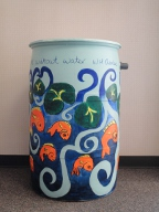 rain barrel by Jana Goss