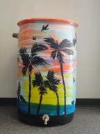 rain barrel by Winter Moore