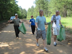 Manchester Forest Cleanup