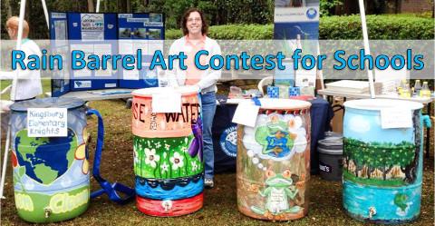 Rain Barrel Art Competition