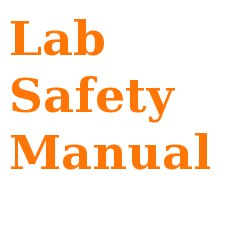 lab safety manual