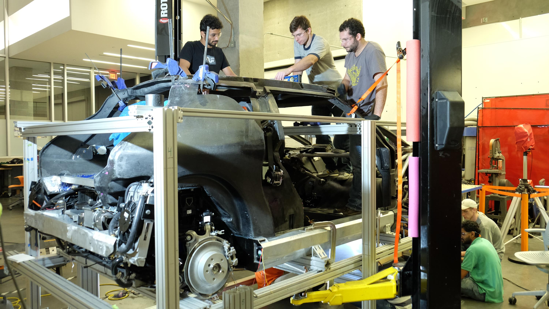 Clemson University students unveil Deep Orange 7 MINI concept