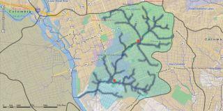 Rocky Branch Map