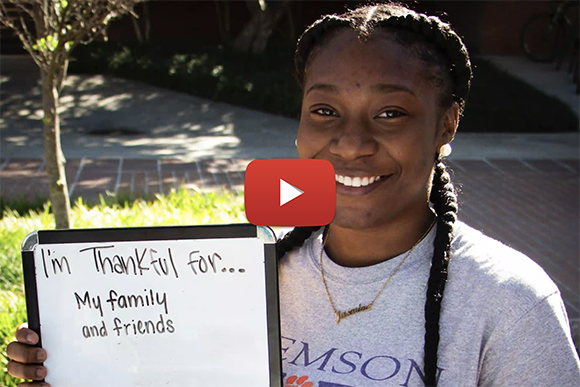 Thankfulness Video