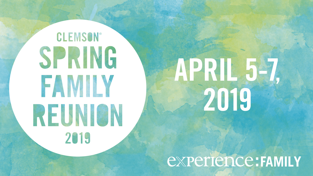 Save the Date: Spring Family Reunion